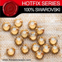 Dress Design Swarovski Elements Light Colorado Topaz (246) 10ss Crystal Iron On Hot Fix Rhinestone