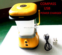2015 new design hot selling solar lantern with mobile phone charger