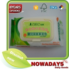Wholesale alcohol free baby skin cleaning wipes