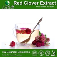 GMP Factory Red Clover P E/Top Quality Red Clover Extract for Antibiotic Food Supplement