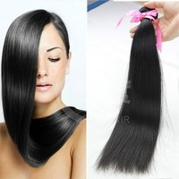 unprocessed 6A grade 100%cheap straight hair raw Wholesale brazilian virgin human hair