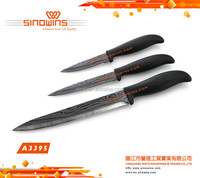 ABS Handle Stainless Steel Kitchen Knives/Multi Color Knife Set
