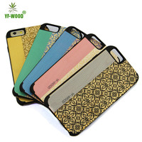 Newest design full printing wooden case for iphone 6 mobile phone accessories