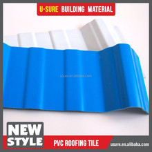 concrete roof tile / pvc plastic roof tile