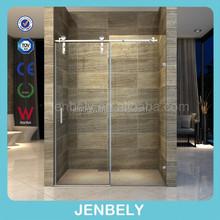 Line Sliding Adjustable Shower Enclosure For UPC Standard