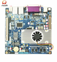 network firewall pc motherboard with Intel Atom D2550 processor+ ICH8 chipset