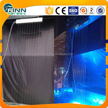 Garden use rain water curtain nozzle RGB light water rain curtain