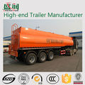 Tanque de combustível semi reboque dimensões/3 eixo de entrega de combustível caminhões de reboque do petroleiro
