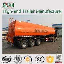 Fuel Tanker Semi trailer Dimensions/3 Axle Fuel Delivery Trucks Oil Tanker Trailer
