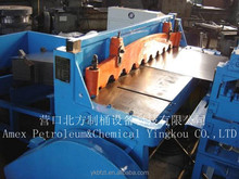sheet cutting and waste cutting machine for drum making equipment