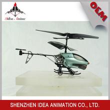 Modelo de avión con hélice de aleación con proporción de 1:100