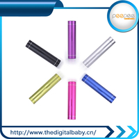 2015 outdoor rechargeable lithium battery 2600mah power bank