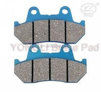 Rearsintered brake pads for HONDA CBR 500 FH/FJ/FK/FL 87-90/CBR 600 FH/FJ/FK/FL 87-90