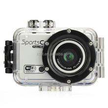 Notice!120 degree wide angle full HD 1080P wifi 5.0 mega pixel hd sport camera