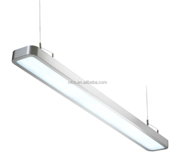 aluminium+PC frame 14.4W LED suspended hanging Linear Panel Light