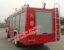 Dongfeng 4000-5000L water tender with fire pump Fire Engine Vehicle For Sales