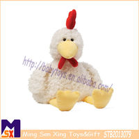 fuzzy stuffed rooster toy soft rooster plush toy 2013 hot selling plush toy for children
