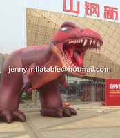 2016 new design 6m tall giant inflatable dinosaur cartoon for advertising/promotional/exhibition decoration