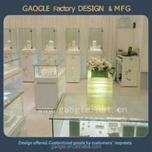 high quality luxury case custom jewelry display cabinet for sale