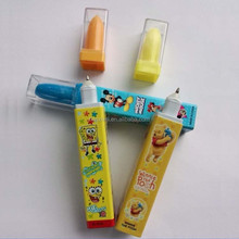 creative promotional cap lipstick ballpoint pen
