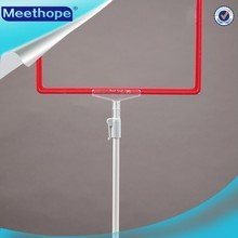 High Quality Display Stand Poster Pole Floor Poster Sign Stand with A2-A6 Frame