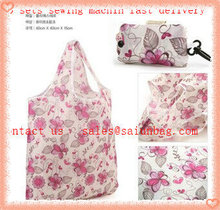 Give Away Brand Printed cart foldable shopping bag for shopping