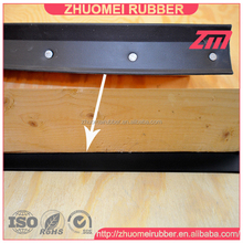 Nail-On garage rubber weatherstrip