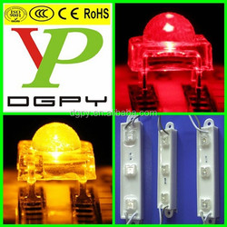 5mm 4-pin piranha led super flux red yellow white etc. ( CE & RoHS Compliant )