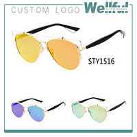 wholesale women branded fashionable cool sunglasses in china 2015/could custom original logo