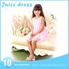 New Fashion children Spring Summer children frock design for 4-10 years old girl