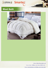 wool quilted quilt ,wool comforter