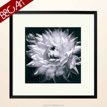 Unique blooming flower famous black and white paintings