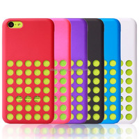 New Stylish Soft Silicone Cell Phone Case for Apple iPhone 5C