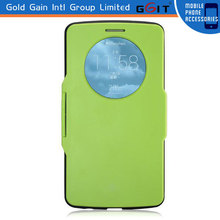 Hot Style Slim Metal Armor Flip Cover Case For LG G3 With Window
