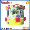 4 Seats Vending Castle Top Grade Crane Claw Machine For Sale