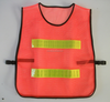 Summer Breathable High Visibility Mesh Safety Reflective Vest China Supplier 100% Polyester Security Guard Warning Clothing