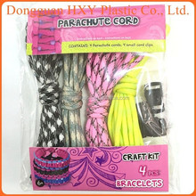 HXY Great Sale Umbrella Rope Cord 5 Ropes 550lb Paracord 7 Core Survival Kits