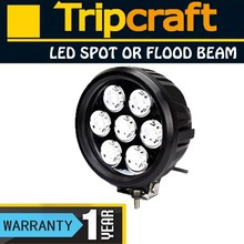 Super Bright! 70W OFF ROAD LED LIGHT 12v 5600lm for Motorcycle / Tractor / Boat / SUV / ATV