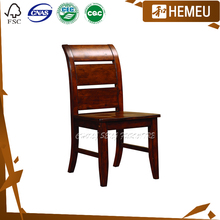 DC3006 - Ergonomice solid maple wood furniture simple wooden dining chairs