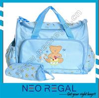 fashion mommy baby bag/ladies fashion bags/holding baby bag