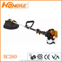25.4cc petrol 2-stroke grass trimmer with Alternative PolyCut mowing head