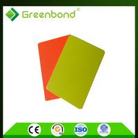 Greenbond honeycomb core aluminum composite panel