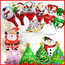 High Quality Santa Claus Foil Balloon toys foil christmas balloon hanging decoration