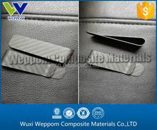 Smart 100% Pure carbon money clip Carbon wallet