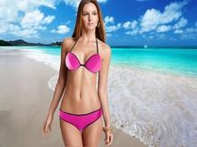 Custom designs new models American flag halter triangl young girl women ladies neoprene hot sex full open girl swimwear