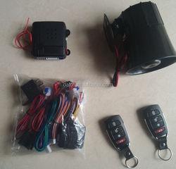 2015 High quality smart car alarm system with remote control manual car alarm system