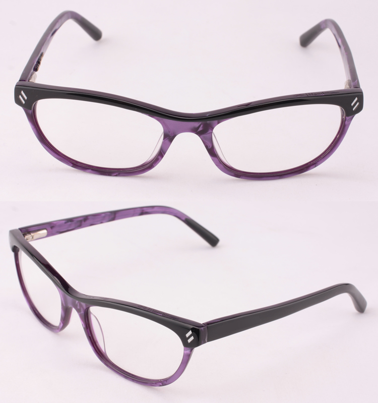 New Beautiful Reading Glasses Frame Composite Acetate ...