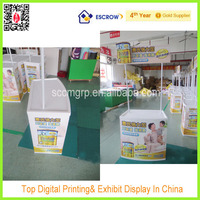 promotion table shelf , plastic promotion table