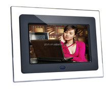 digital picture frames for pos display / digital photo frame for pos display with white/black color