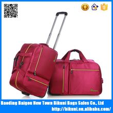 New to market usa 2016 wheels Luggage bag rolling trolley travel duffle bag
